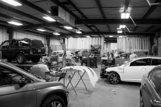 Harbin's garage