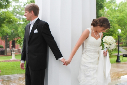 Joel and Liza meet to pray together one time before their marriage.