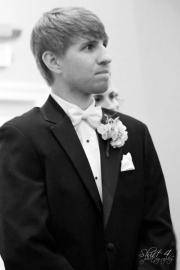 Joel anxiously awaits his bride