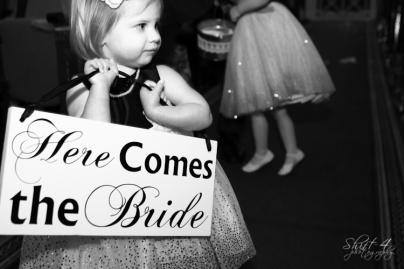 """Here comes the bride"""