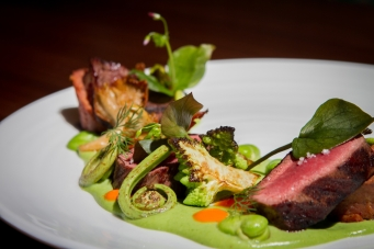 March 27, 2015 - Atlas Restaurant - Colorado lamb loin at