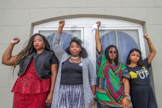 August 17, 2015 - Ebenezer Baptist Church -- Black women taking the charge of social justice in Atlanta was almost THE theme of 2015. It was an honor to photograph these women.