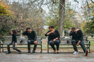 November 21, 2015 - Piedmont Park - A family that dabs together...