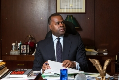 December 21, 2015 - Atlanta City Hall - Photographed Mayor Reed in his office for Creative Loafing's 20 people to watch.